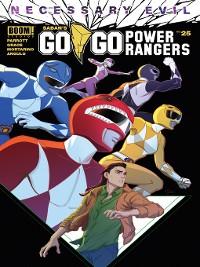 Cover Saban's Go Go Power Rangers, Issue 25
