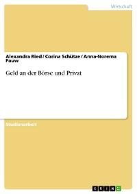 Cover Geld an der Börse und Privat