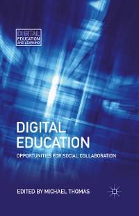 Cover Digital Education