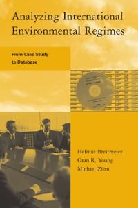 Cover Analyzing International Environmental Regimes