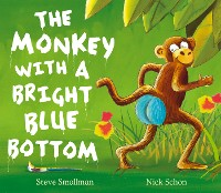 Cover The Monkey with a Bright Blue Bottom