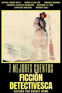 Cover 7 mejores cuentos - Ficción Detectivesca