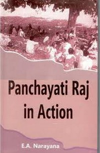 Cover Panchayati Raj in Action
