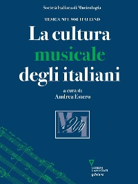 Cover La cultura musicale degli italiani