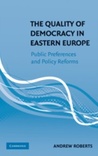 Cover Quality of Democracy in Eastern Europe