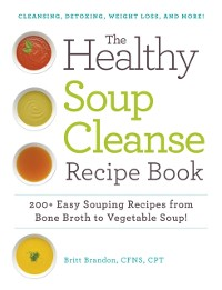 Cover Healthy Soup Cleanse Recipe Book