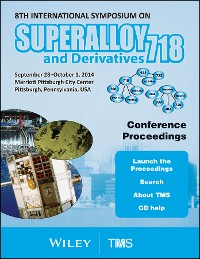 Cover Proceedings of the 8th International Symposium on Superalloy 718 and Derivatives