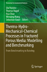 Cover Thermo-Hydro-Mechanical-Chemical Processes in Fractured Porous Media: Modelling and Benchmarking