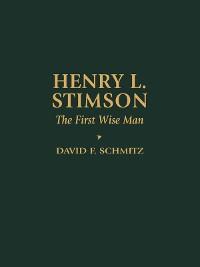 Cover Henry L. Stimson