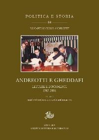 Cover Andreotti e Gheddafi