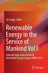 Cover Renewable Energy in the Service of Mankind Vol I