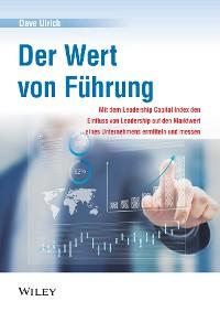 Cover Der Wert von Führung