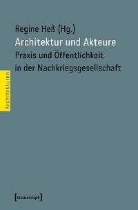 Cover Architektur und Akteure