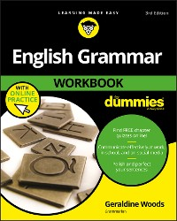 Cover English Grammar Workbook For Dummies, with Online Practice
