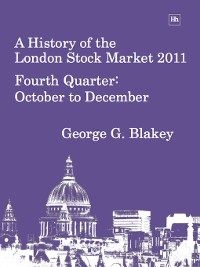 Cover A History of the London Stock Market 2011