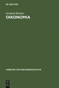Cover Oikonomia