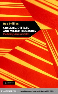 Cover Crystals, Defects and Microstructures