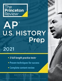 Cover Princeton Review AP U.S. History Prep, 2021