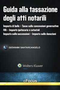 Cover Guida alla tassazione degli atti notarili