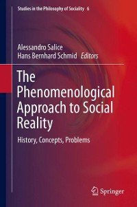 Cover The Phenomenological Approach to Social Reality