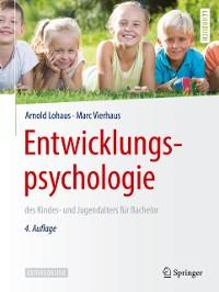 Cover Entwicklungspsychologie des Kindes- und Jugendalters fur Bachelor