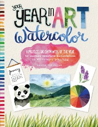 Cover Your Year in Art: Watercolor