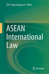 Cover ASEAN International Law