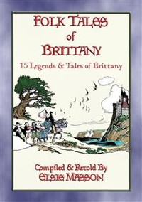 Cover FOLK TALES OF BRITTANY - 15 illustrated children's stories