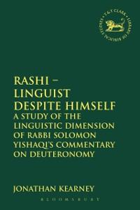 Cover Rashi - Linguist despite Himself