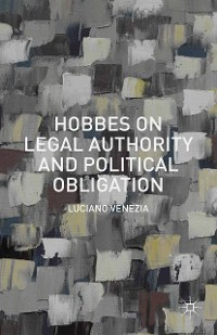 Cover Hobbes on Legal Authority and Political Obligation