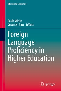 Cover Foreign Language Proficiency in Higher Education