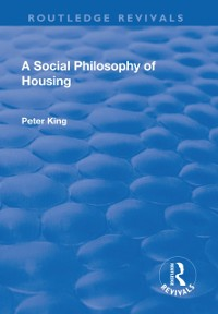 Cover Social Philosophy of Housing