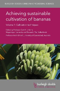 Cover Achieving sustainable cultivation of bananas Volume 1