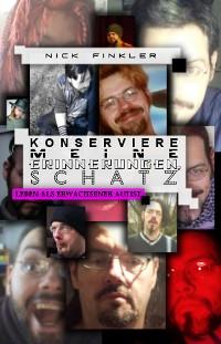 Cover Konserviere meine Erinnerungen, Schatz