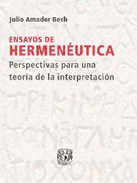 Cover Ensayos de hermenéutica