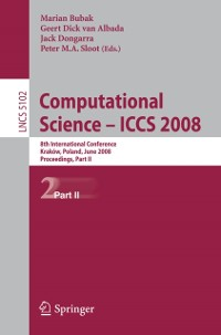 Cover Computational Science - ICCS 2008