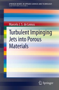 Cover Turbulent Impinging Jets into Porous Materials