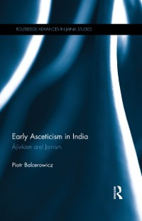 Cover Early Asceticism in India