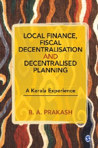 Cover Local Finance, Fiscal Decentralisation and Decentralised Planning
