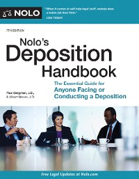 Cover Nolo's Deposition Handbook