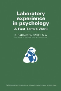 Cover Laboratory Experience in Psychology