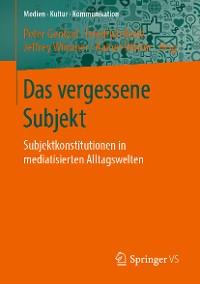 Cover Das vergessene Subjekt