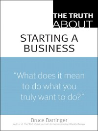 Cover The Truth About Starting a Business