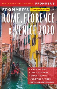 Cover Frommer's EasyGuide to Rome, Florence and Venice 2020