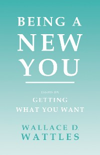 Cover Being a New You - Essays on Getting What You Want