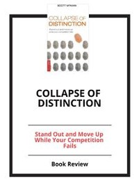 Cover Collapse of Distinction