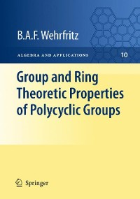 Cover Group and Ring Theoretic Properties of Polycyclic Groups
