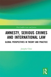 Cover Amnesty, Serious Crimes and International Law