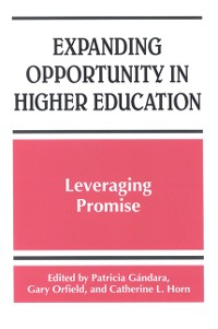 Cover Expanding Opportunity in Higher Education