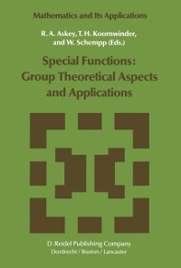 Cover Special Functions: Group Theoretical Aspects and Applications